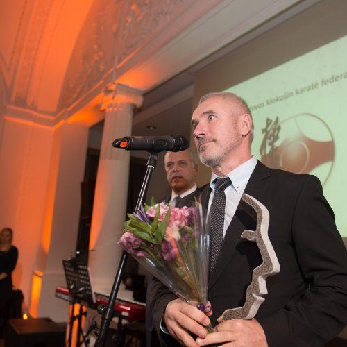 Lietuvos sporto vadybos apdovanojimų ceremonija  © Alfredo Pliadžio nuotr.