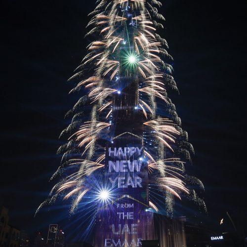 Pasaulis pasitiko 2019 metus  © Scanpix nuotr.