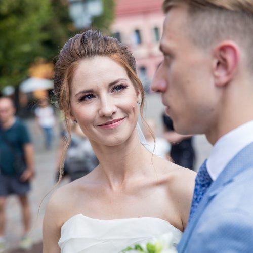Kauno rotušėje susituokė žinoma šokėjų pora  © Vilmanto Raupelio nuotr.