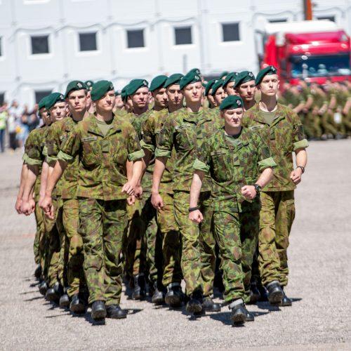 Rukloje – kareivių išleidimas į atsargą