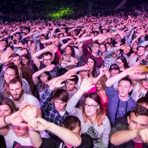 """""""G&G Sindikatas - UŽDEGTI ŠVIESĄ """"koncertas  © Vilmanto Raupelio nuotr."""