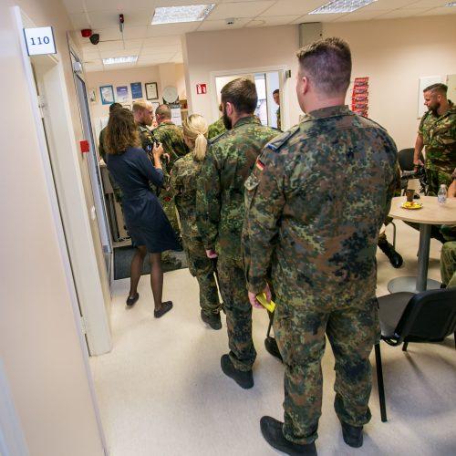 NATO kariai Kaune tapo kraujo donorais  © Vilmanto Raupelio nuotr.