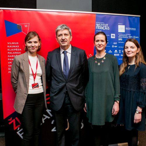 Prancūzų kino festivalio Žiemos ekranai atidarymas Romuvoje