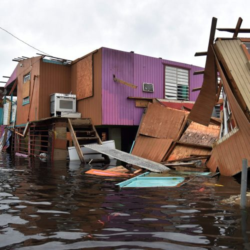 "Uragano ""Maria"" nuniokotas Puerto Rikas  © Scanpix nuotr."