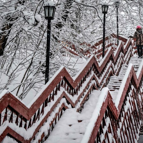 Maskvoje – gausiausia per šimtą metų sniego pūga  © Scanpix nuotr.