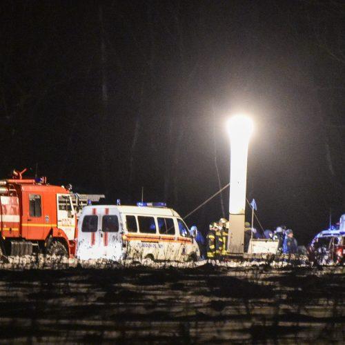 Pamaskvėje sudužo keleivinis lėktuvas  © Scanpix nuotr.