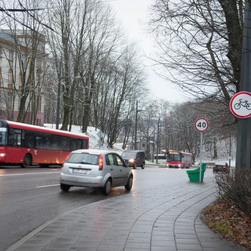 Centrinėse gatvėse keisis eismo tvarka