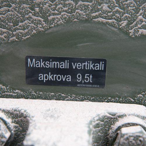 Kaune pristatyti pirmieji šarvuočiai ''Boxer''  © Akvilės Snarskienės nuotr.