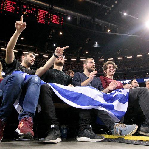 """Eurolyga: """"Žalgiris"""" – """"Panathinaikos"""" 80:74  © Evaldo Šemioto nuotr."""