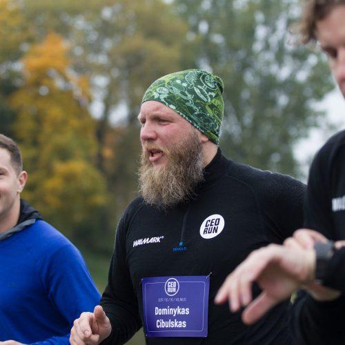 Boso dieną – įmonių vadovų bėgimo varžybos  © V. Skaraičio / BFL nuotr.