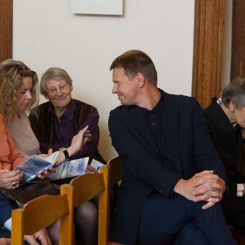 R. Dambrauskaitės eilėraščių knygos pristatymas  © V.Skaraičio/BFL nuotr.
