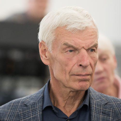 Susitikimas su netrukus 80-metį švęsiančiu Č. Juršėnu  © V.Skaraičio/BFL nuotr.