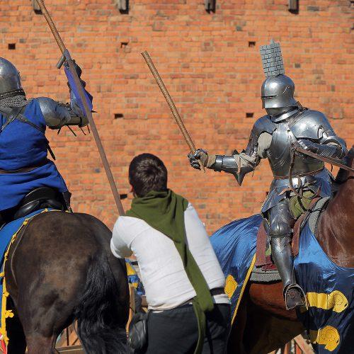 Hanzos dienos 2018. Raitelių kovos  © Evaldo Šemioto nuotr.