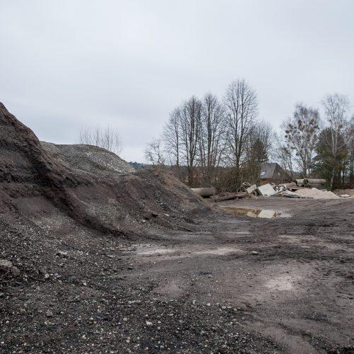 Zapyškio asfaltbetonio bazė   © Vilmanto Raupelio nuotr.