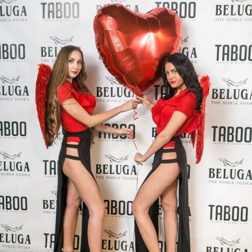 "Valentino diena ""Taboo"" klube"