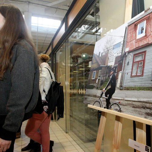 """A.Morozovo paroda """"Kauno veidai"""" Vilijampolėje  © Evaldo Šemioto nuotr."""