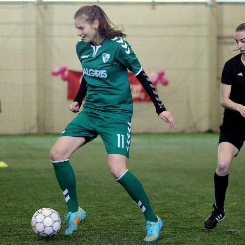 Moterų futbolo atgimimo 30-mečio paminėjimas  © Evaldo Šemioto nuotr.