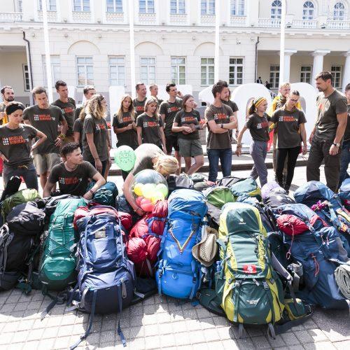 """Iš Kazachstano grįžo """"Misija Sibiras"""" ekspedicija"""