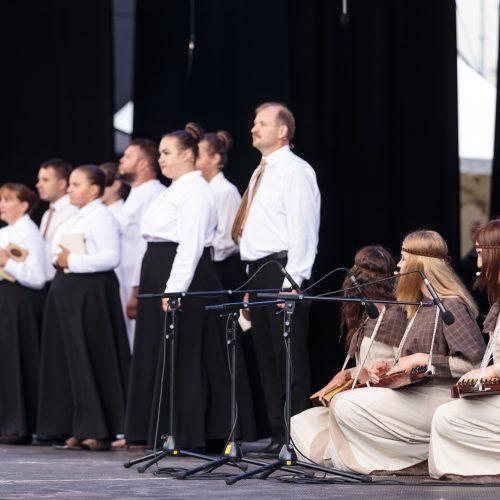 Teatrų dieną vainikavo vaikų pasirodymai   © Gedimino Bartuškos (ELTA) nuotr.