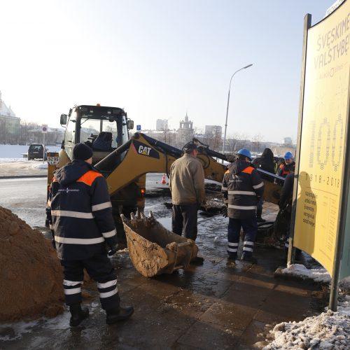 Vandentiekio avarija Vilniuje