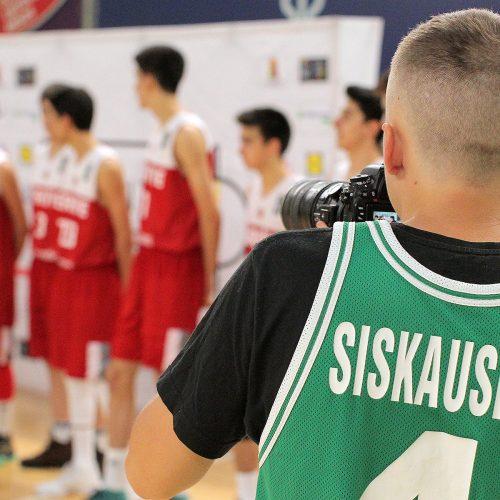 R.Šiškausko krepšinio jaunučių turnyras
