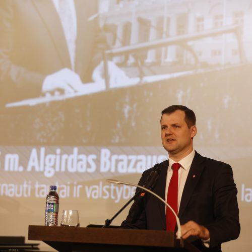 A. Brazausko inauguracijos metinės   © Mariaus Morkevičiaus (ELTA) nuotr.