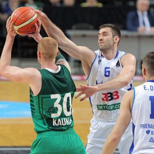 """LKL: """"Žalgiris"""" – """"Vytautas"""" 109:52  © Evaldo Šemioto nuotr."""
