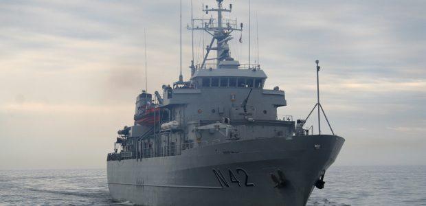 Lietuvos karo laivas dalyvaus tarptautinėse pratybose Švedijoje