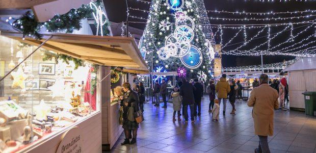 Kas magiško laukia sostinės Kalėdų miesteliuose šiemet?