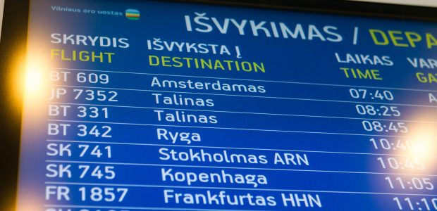 Oro uostuose ketinama įdiegti bendrą informacinę valdymo sistemą