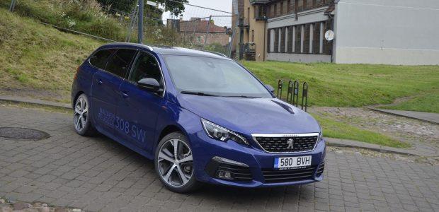 """Atnaujintas """"Peugeot"""" vis tiek liko didžiųjų šešėlyje"""