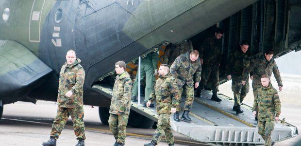 NATO šalių technika – jau pakeliui į Kauną
