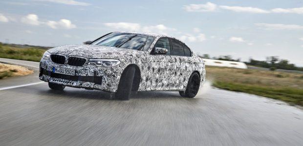 """Naujasis """"BMW M5"""" turės visų varančiųjų ratų pavarą"""