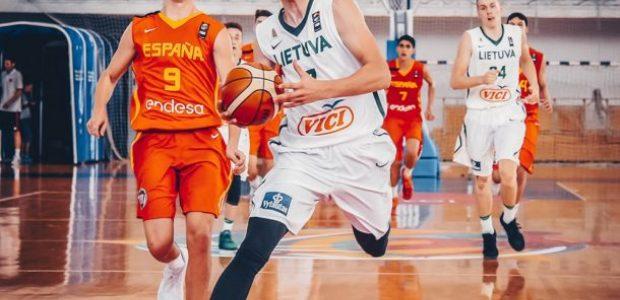 Europos jaunimo čempionate Lietuva pranoko Ispaniją
