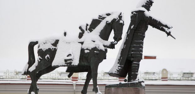 """""""Vilniaus skulptūrų kelias"""" kviečia į kalėdinį pasivaikščiojimą sostinėje"""