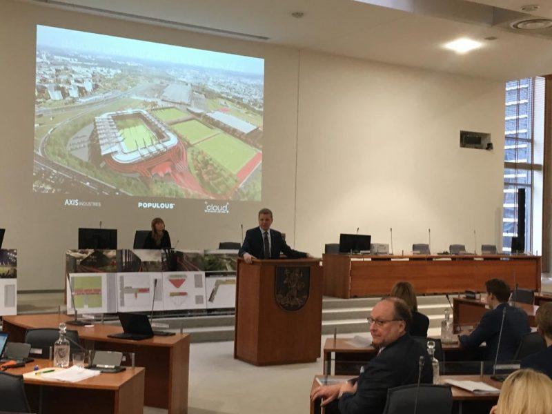 """""""Icor"""" nusileido dėl nacionalinio stadiono finansavimo"""