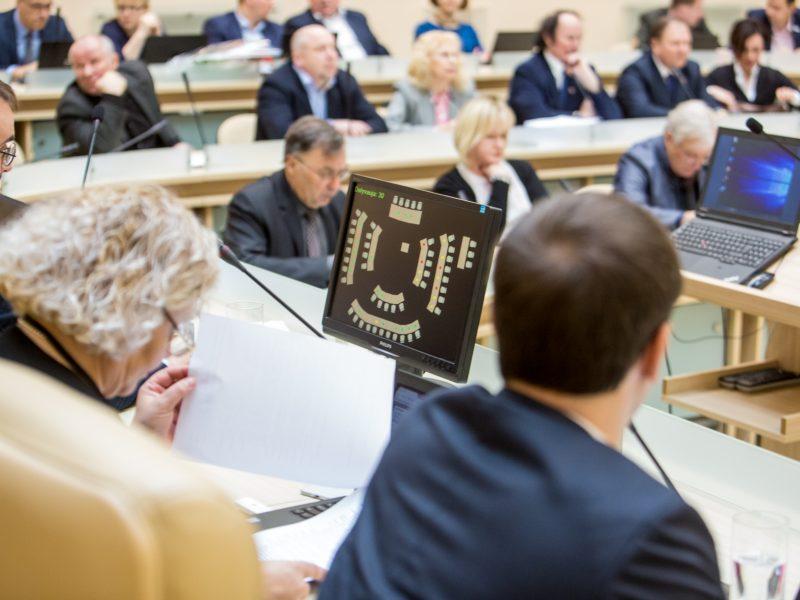 Kauno miesto tarybos posėdis (2018 balandžio mėn.)