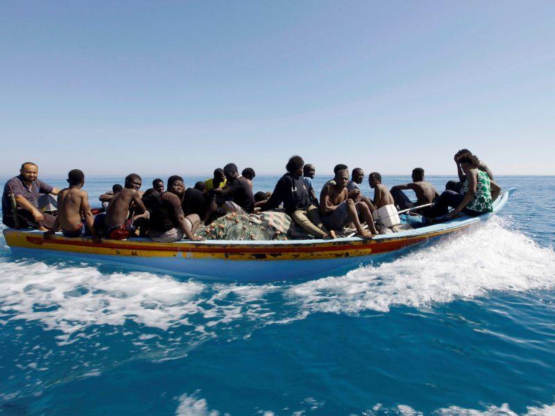 Prie Jemeno krantų paskandinta apie 50 migrantų