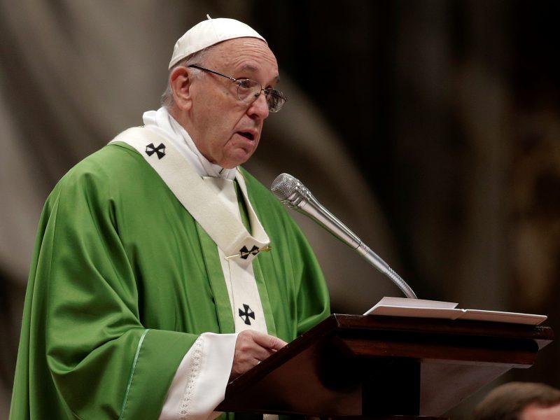 Bažnyčia pirmą kartą paminėjo Pasaulinę skurstančiųjų dieną