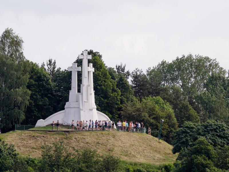 Trijų kryžių kalnui gresia Gedimino kalno likimas?