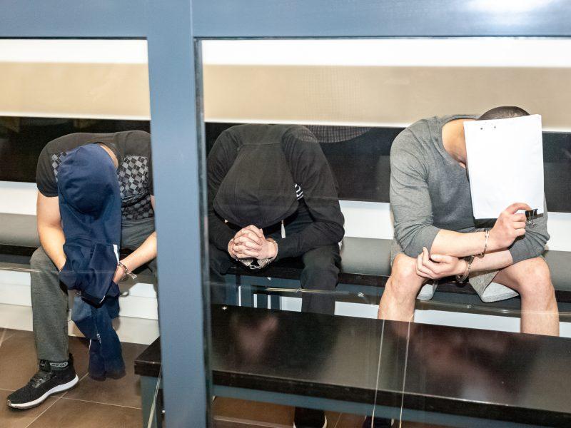 Ievos Strazdauskaitės žudikų teismas