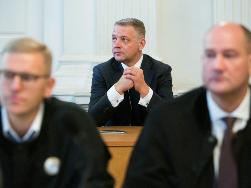 R. Kurlianskis ir E. Masiulis atsisakė komentuoti slapta įrašytus pokalbius