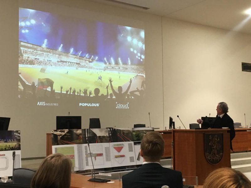 Derybose dėl Nacionalinio stadiono statybų – proveržis