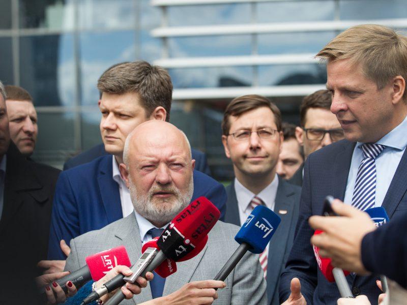 Liberalai pretenduoja pasididinti patalpas Vilniaus savivaldybėje