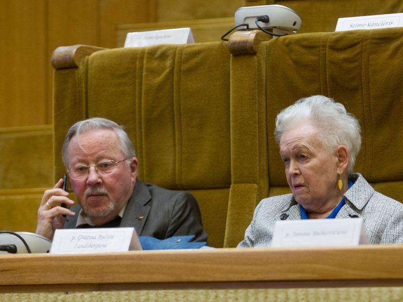 G. Ručytė-Landsbergienė: Sausio 13-ąją visos trys mūsų šeimos panelės laukėsi