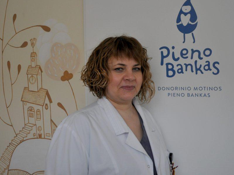 Mamos-donorės paaukojo 500 litrus pieno