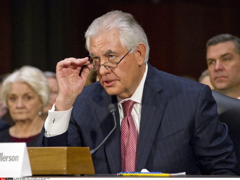 R. Tillersonas iš pareigų pasitrauks kovo 31 dieną
