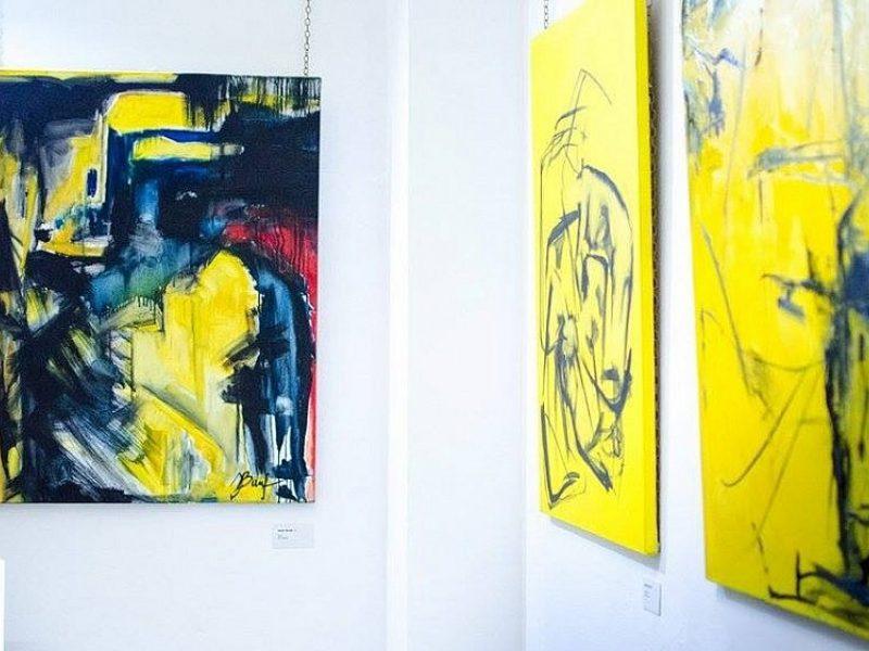 Lietuvės tapytojos paroda Londone sudomino ir Kinijos žiniasklaidą