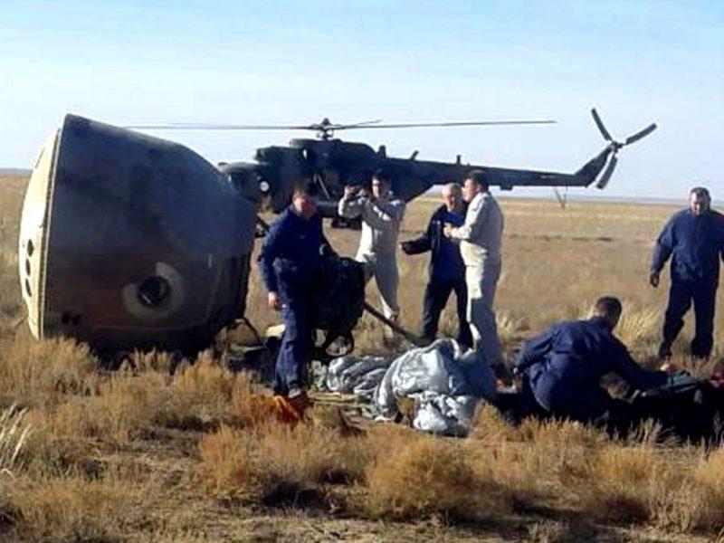 Rusijos kosmoso agentūra: avariniu būdu leidęsi astronautai į TKS skris kitą pavasarį