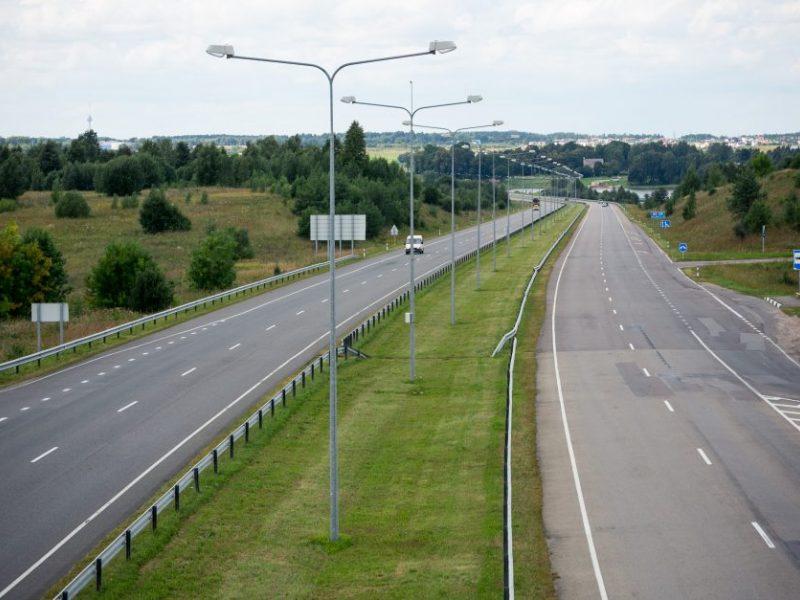 Kelio Vilnius–Utena rekonstrukciją žlugdo per didelės kainos